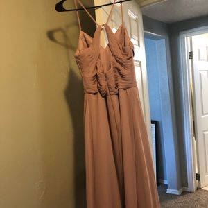 Azazie Bridesmaid Dress in Dusty Rose
